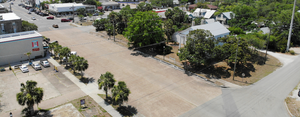 Street view of land for sale in Apalachicola